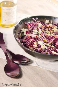 Salade met rode kool ... ziet er heerlijk uit.