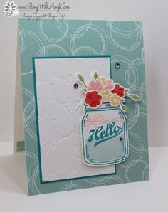 Stampin' Up! Jar of Love - Stamp With Amy K