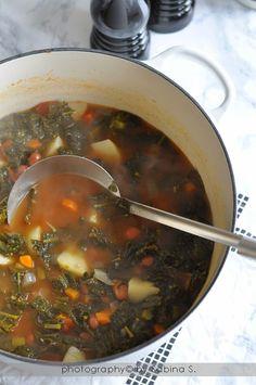 Due bionde in cucina: Zuppa di cavolo nero