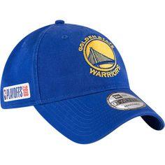 b2a37c8b84a Men s New Era Royal Golden State Warriors 2018 NBA Playoffs 9TWENTY  Adjustable Hat