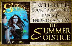 Tome Tender: K.K. Allen's Summer Solstice Enchanted Blitz & Giv...