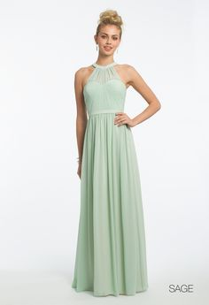 Illusion Halter Dressfrom Camille La Vie and Group USA