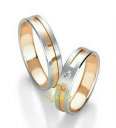 Shop for great value White & Rose gold wedding rings by Breuning at Riverstones Jewellery today. Wedding Rings Rose Gold, Wedding Rings For Women, Gold Engagement Rings, Wedding Men, Wedding Ring Bands, Gold Rings, Gold Wedding, Wedding Ideas, Or Rose