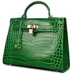 Ainifeel Women's Padlock Crocodile Embossed Patent Leather Shoulder Handbags (28cm, Green) Ainifeel http://www.amazon.com/dp/B00X0NLINM/ref=cm_sw_r_pi_dp_XibAwb16BDWEZ