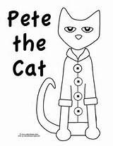 Pete the Cat Pattern to color, cut, and assemble! Children