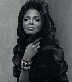 Janet Jackson Stuns in New Blackglama Ads [PHOTOS] Janet Jackson – GossipOnThis.com