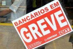Bancários entrarão em greve na próxima terça-feira (18)