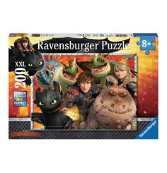 Ravensburger Puzzle Dragons Hicks, Astrid und die Drachen 200 Teile