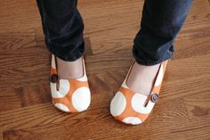 Women's cotton shoes! thehiphousewife
