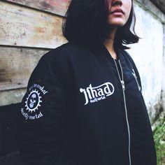 Jihad Death Metal | Official Merch 2016 | Bomber: Brandal Death Metal | Color: Black | Size: S - M - L - XL | IDR: 399K | Order: 085723321707 | Pin: 54C5312B