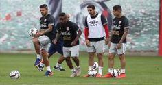 Selección Peruana: Juan Vargas se integró a los entrenamientos de la bicolor