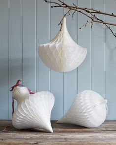 Pretty Christmas decorations from @mydeco