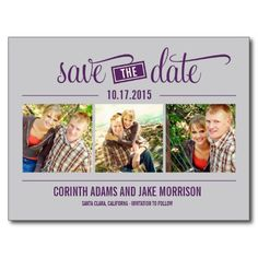 """THE"" Date - Save The Date Card"