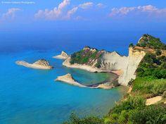 Cape Drastis, Corfu ~ Ionian Sea ~ Greece, by Marios Katsaros