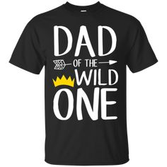 Funny Shirt Awesome Dad Of The Wild One Thing 1st Birthday