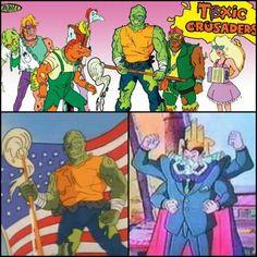 """Toxic Crusaders!"" Cartoon"