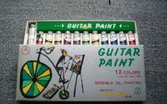 ギターペイント水彩絵の具