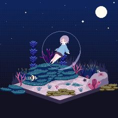 So pretty and cool Animation Pixel, Pixel Art Background, Anime Gifs, 8 Bit Art, 8 Bits, Video Games Girls, Star Citizen, Kawaii Art, Aesthetic Anime