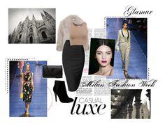 """Milan Fashion Week"" by ttylzaynab ❤ liked on Polyvore featuring STELLA McCARTNEY, Doublju, Dolce&Gabbana, ALDO and Yves Saint Laurent"