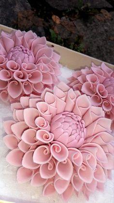 #Dalien #Zuckerblumen #DasTortenfräulein