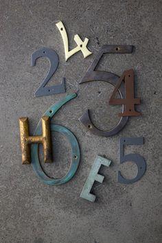 数字 Numbers & Letters