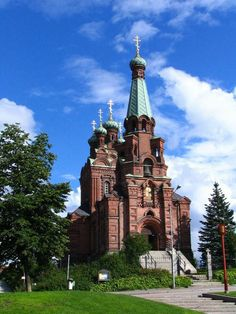 2005-08-13_Tampere,_Orthodoxe_Kirche_Nevski_-_Nicolas,Vuolteenkatu.jpg 600×800 Pixel