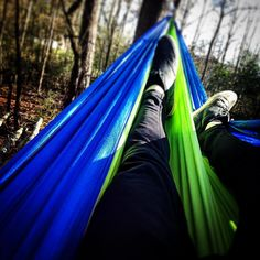 Nice way to end a Sunday afternoon. #hammocklife #chillax by @christianscott1125