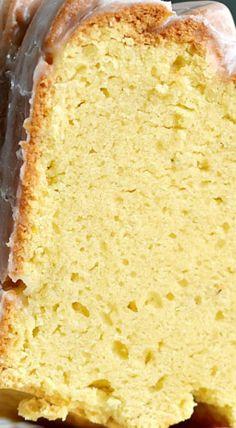 Spiked Eggnog Bundt Cake