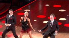Katherine, Mark and Tristan -Dancing with the Stars Season 14 Episode 14
