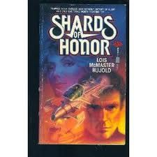 """Shards of Honor"" (Lois McMaster Bujold) what a book. I reread it often! And then... many books with these characters you love."