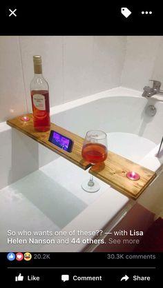 Wine and Mobile Bath Board
