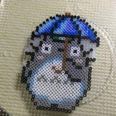 Totoro perler beads …