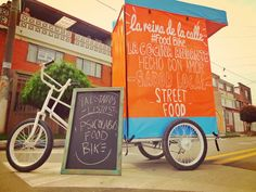 One of the most interesting alternatives on street food from Bogota, Colombia Psicolabis food Bike