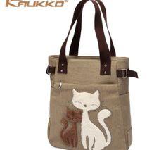 KAUKKO el yapımı premium kanvas çanta (SB10)