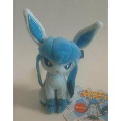 Pokemon Center 2013 Glaceon Mini Sitting Plush Toy