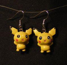 Pokemon Jewelry: Pichu Earrings.