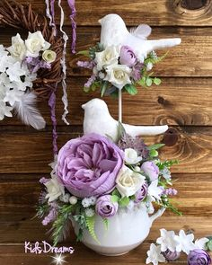 Crafts Fir Kids, Diy Crafts To Sell, Fabric Flower Headbands, Fabric Flowers, Bunny Crafts, Easter Crafts, Container Flowers, Summer Crafts, Valentine Crafts