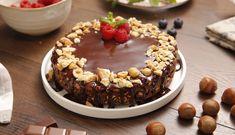 Tarta de chocolate y galletas con avellanas Chocolate Nestle, Tarta Chocolate, Menu Planners, New Recipes, Tiramisu, Acai Bowl, Delicious Desserts, Cooking, Breakfast