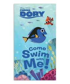 Look what I found on #zulily! Finding Dory Come Swim with Me! Board Book by Pixar #zulilyfinds