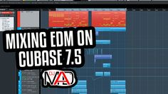 Mixing EDM with Cubase.