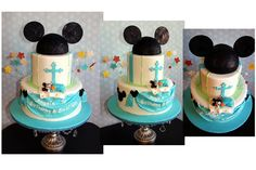 Mickey Mouse Cake Theme by Bake Dreams