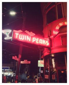 Twin Peaks - photography print of Castro, San Francisco