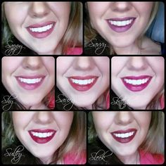 The colors of Younique lip stains.  I love all these beautiful colors and love that these lip stains are long lasting and smudge proof.  #younique https://www.youniqueproducts.com/lashestothemax/products/view/US-22301-00#.VQGER-FjpaY