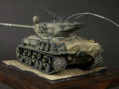 M51 Super Sherman 1/35 Scale Model