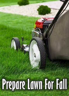 The end of summer doesn't mean the end of lawn care. Take these simple steps with your grass now and you'll have a head start on a healthy lawn for next spring. #lawn #lawncare #landscaping