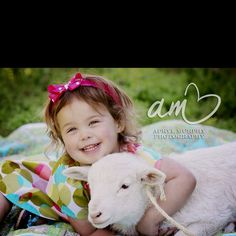 Easter lamb picture by Apryl Murphy photography - love it!!