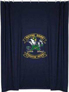 notre-dame-fighting-irish-shower-curtain