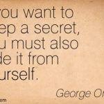 Secrets u hide
