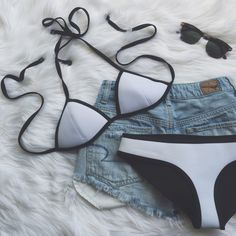 •reserved• White Triangl Bikini Set• 100% authentic Triangl Bikini. Worn 2x. Neoprene fits firm on the body; and has a greater resistance to stretch, which means it won't lose its shape.   •top size: XS  •bottom size: S •color: white Triangl bikini   •the bottoms have a few lines from being folded in a suitcase, see photo 3.  •Open to offers.   →No trades(comments will politely be ignored). →15% off 2+ items 💕 triangl swimwear Swim Bikinis