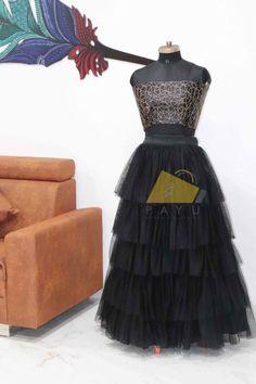 Net Lehenga, Lehenga Choli, Lahenga, Layers, Silk, Formal Dresses, Black, Fashion, Layering